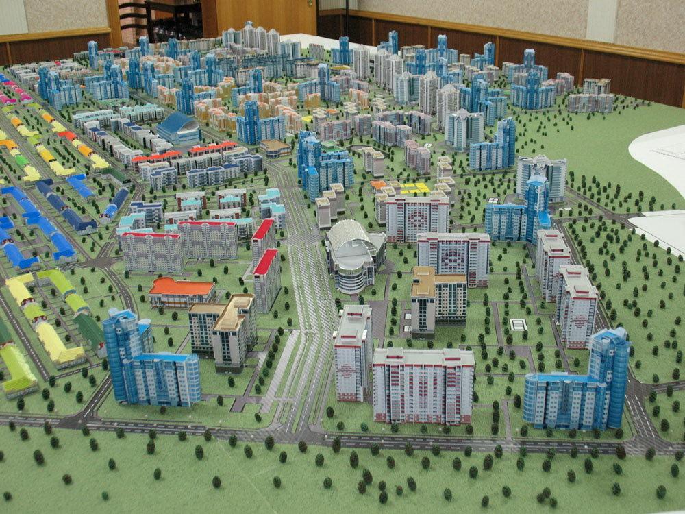 Как сделать макет города